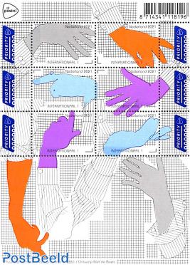 Dutch design, handtalk 6v m/s