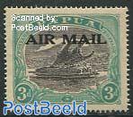 Air Mail overprint 1v