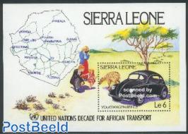 African transport s/s, Volkswagen Beetle