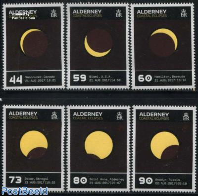 Coastal Eclipses 6v (Thermochromic ink)