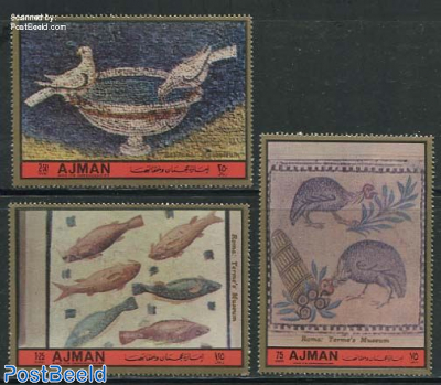 Animal Mosaics 3v