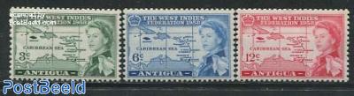 West Indies federation 3v