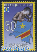50 Years Independence Congo 1v