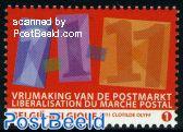 Liberalisation of postal market 1v