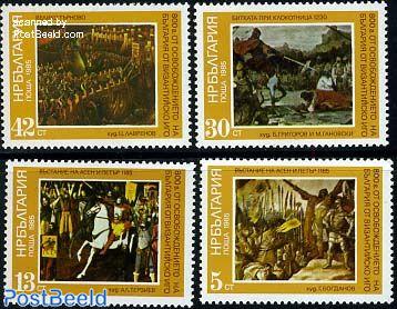 History, paintings 4v