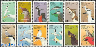 Definitives, birds 12v