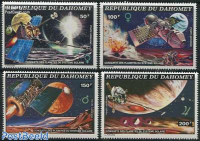 Space exploration 4v