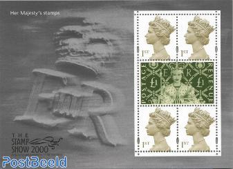 Stamp show 2000 minisheet