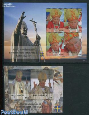 Canonization of Pope John Paul II, 2 s/s