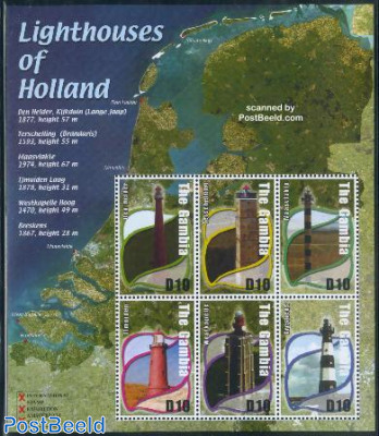 Dutch lighthouses 6v m/s