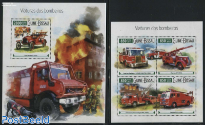Fire Engines 2 s/s