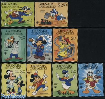 Int. year of the child/Disney 9v