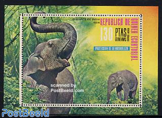 Asian elephant s/s