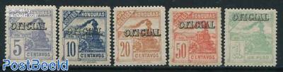 OFICIAL Overprints 5v