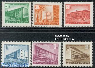 Definitives buildings 6v