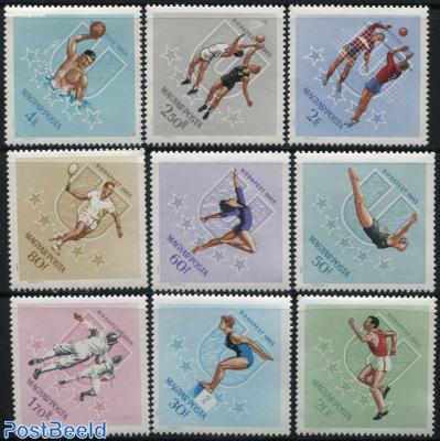 Universiade 9v