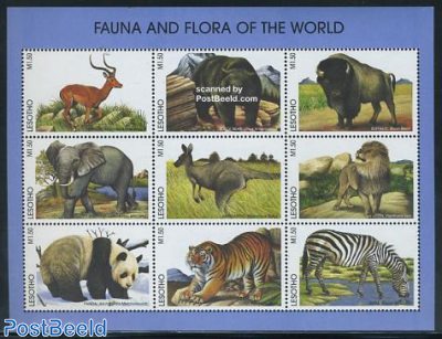 Animals from the world 9v m/s