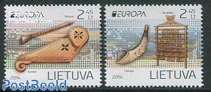 Europa, Music instruments 2v