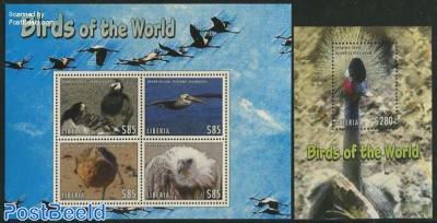 Birds of the world 2 s/s