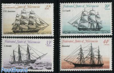 Historical ships 4v