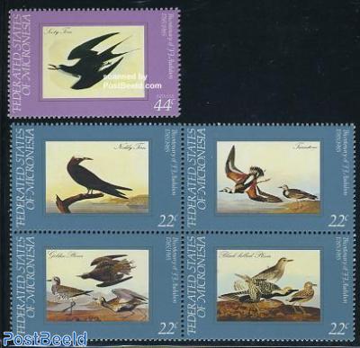 J.J. Audubon 5v (1v+[+])