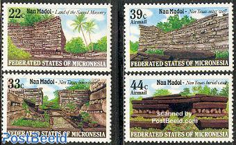 Nan Madol ruins 4v