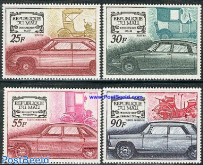 Automobiles 4v (Peugeot,Renault,Citroen,Panhard)