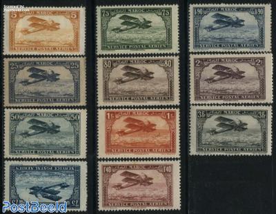Airmail definitives 11v