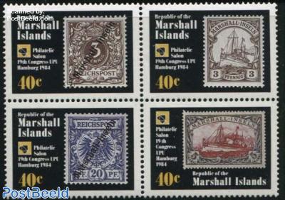 World postal congress 4v [+]
