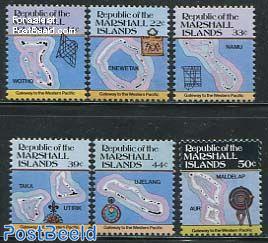 Island maps 6v