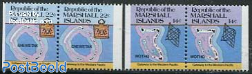 Island maps 2 booklet pairs