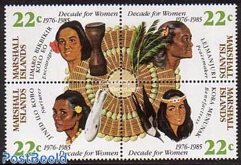 UN woman decade 4v [+]