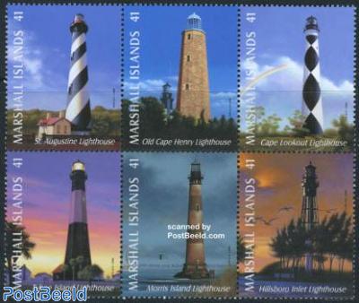 Lighthouses 6v [++]