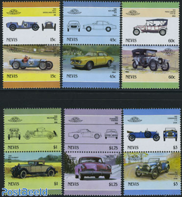 Automobiles 6x2v [:] (Alfa Romeo,Pierce-arrow,