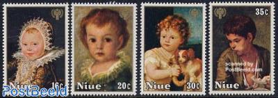International year of the child 4v