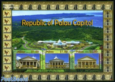Capitol of Palau s/s