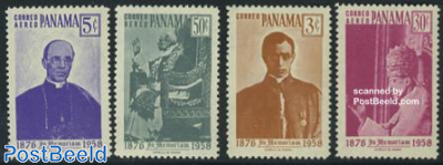 Pope Pius XII 4v