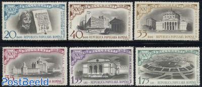500 years Bucarest 6v