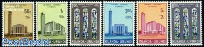 Usumbura cathedral 6v