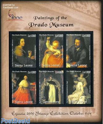 Prado paintings 6v m/s