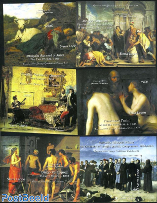 Prado paintings 6 s/s