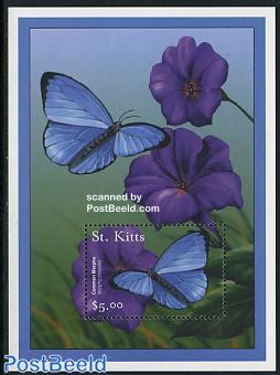 Butterfly s/s, Morpho peleides