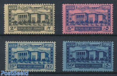 Postage due, museum 4v