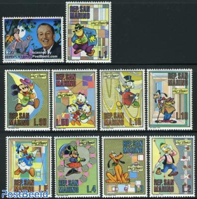 Walt Disney 10v