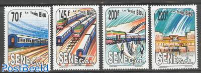 The blue train 4v