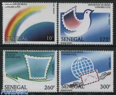 World postal congress 4v