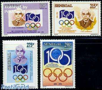 IOC centenary 4v