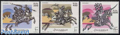 Soldiers on horses 3v