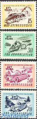 Auto and motor rallye 4v