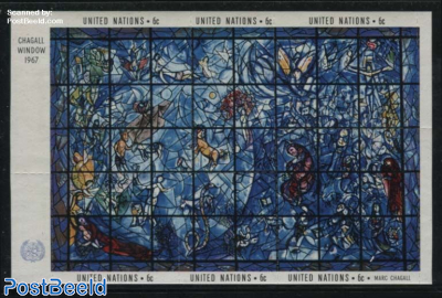 Chagall window s/s